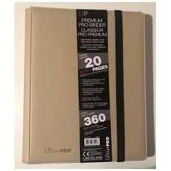 Premium Pro Binder 360 cartes BLANC