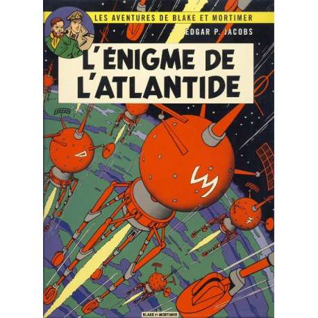 Blake et Mortimer - Tome 7 - L'énigme de l'Atlantide