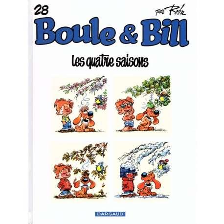 Boule et Bill -02- (Édition actuelle) - Tome 28 - Les quatre saisons