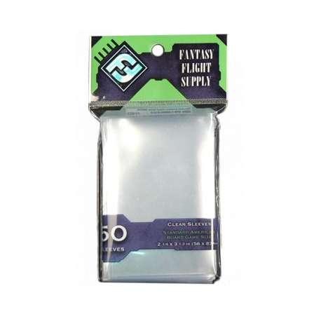 Sachet de 50 protège-cartes transparents FFG Standard US (57x89 mm)