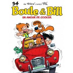 Boule et Bill -02- (Édition actuelle) - Tome 34 - Un amour de cocker