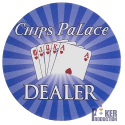 Bouton Dealer CHIPS PALACE