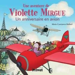 Une aventure de Violette Mirgue - Au pays des avions - Album