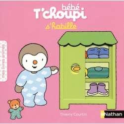 Bébé T'choupi s'habille - Mes livres animés - Album
