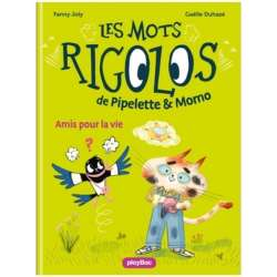 Les mots rigolos de Pipelette & Momo - Tome 1