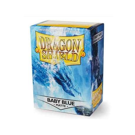 100x Dragon Shield MATTE - MTG 63.5x88 BLUE BABY
