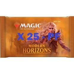 MTG Horizons du Moderne : Pack de 25 Booster EN pour POLYNESIE