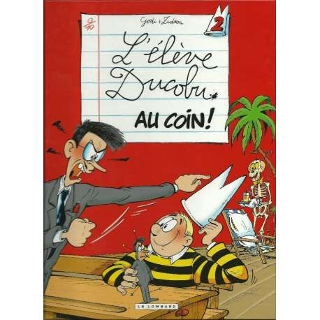 Élève Ducobu (L') - Tome 2 - Au coin !