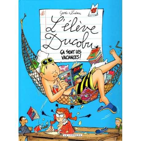 Élève Ducobu (L') - Tome 15 - Ça sent les vacances !