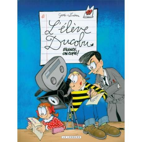 Élève Ducobu (L') - Tome 17 - Silence, on copie!