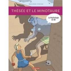 Mythologie en BD (La) - Tome 4 - Thésée et le minotaure