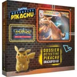 Coffret Pokemon - Dossier Détective Pikachu : Dracaufeu-GX