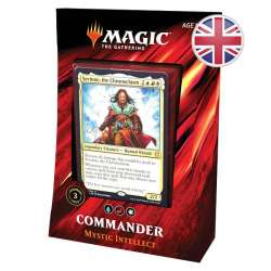 MTG Commander 2019 : Deck Mystic Intellect EN