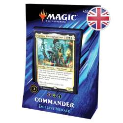 MTG Commander 2019 : Deck Faceless Menace EN