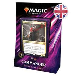 MTG Commander 2019 : Deck Merciless Rage EN