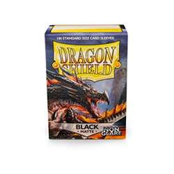 100x Dragon Shield MATTE - MTG 63.5x88 BLACK - Anti-reflets