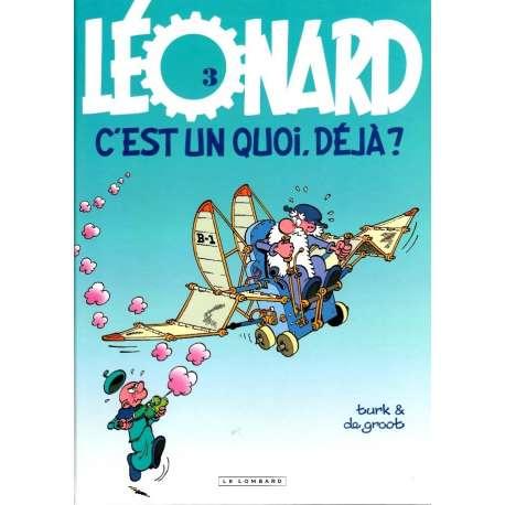 Léonard - Tome 3 - Leonard, c'est un quoi déjà ?