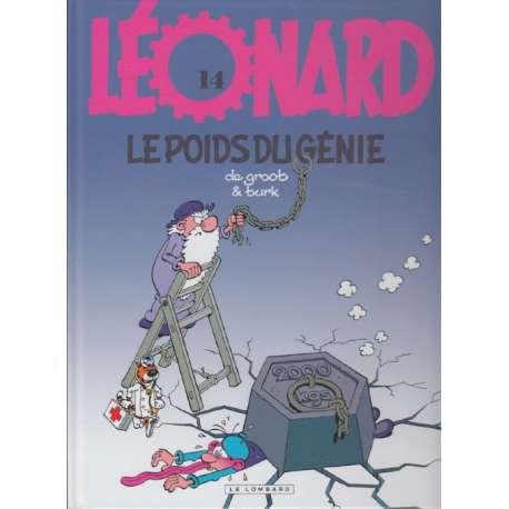 Léonard - Tome 14 - Le poids du génie
