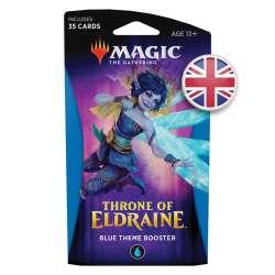 MTG Le Trône d'Eldraine : Booster à Thème Bleu EN
