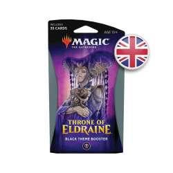 MTG Le Trône d'Eldraine : Booster à Thème Noir EN