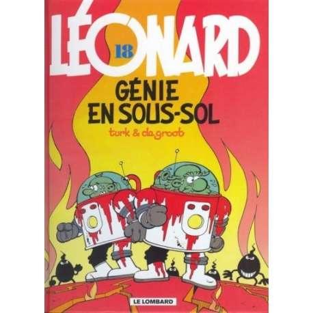 Léonard - Tome 18 - Génie en sous-sol