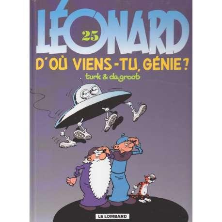 Léonard - Tome 25 - D'où viens-tu génie ?