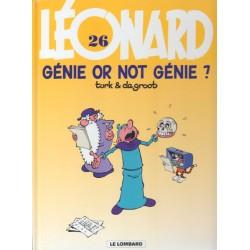 Léonard - Tome 26 - Génie or not génie ?