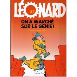 Léonard - Tome 27 - On a marché sur le génie