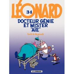 """Léonard - Tome 34 - Docteur génie et mister aïe"""""""""""