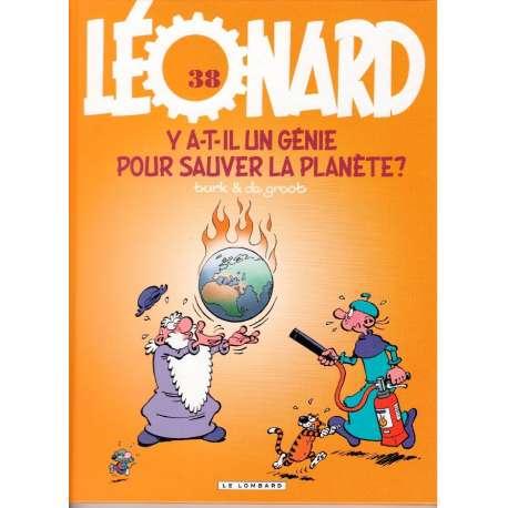 Léonard - Tome 38 - Y a-t-il un génie pour sauver la planète?