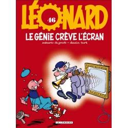 Léonard - Tome 46 - Le génie crève l'écran