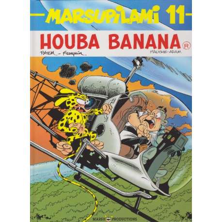 Marsupilami - Tome 11 - Houba banana
