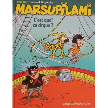 Marsupilami - Tome 15 - C'est quoi ce cirque !?