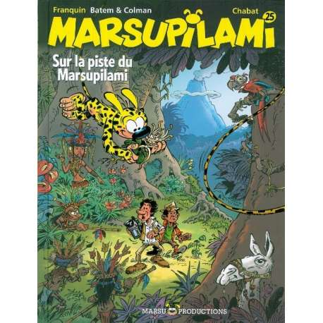 Marsupilami - Tome 25 - Sur la piste du Marsupilami