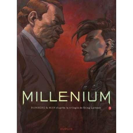 Millénium - Tome 3 - La fille qui rêvait d'un bidon d'essence et d'une allumette - Première partie