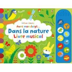 Dans la nature - Livre musical - Album