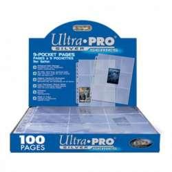 Paquet de 100 feuilles de classeur Ultra-Pro Silver