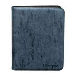 Cahier 360 Cartes Up Pro Binder Suède Sapphire Zipper