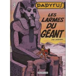 Papyrus - Tome 9 - Les larmes du géant