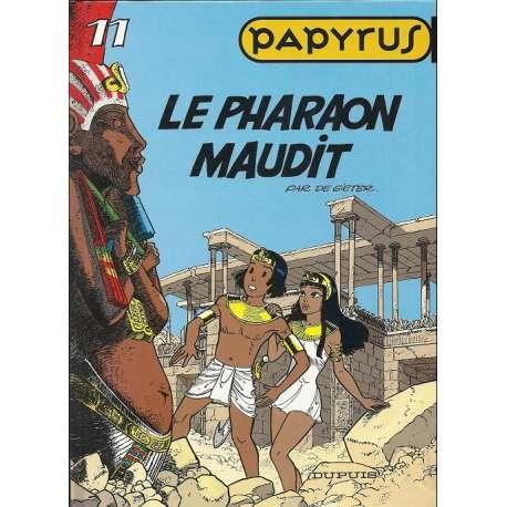 Papyrus - Tome 11 - Le pharaon maudit
