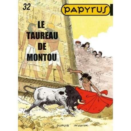 Papyrus - Tome 32 - Le taureau de Montou