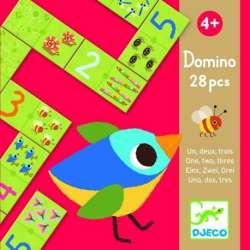 Jeux éducatifs - Domino un, deux, trois