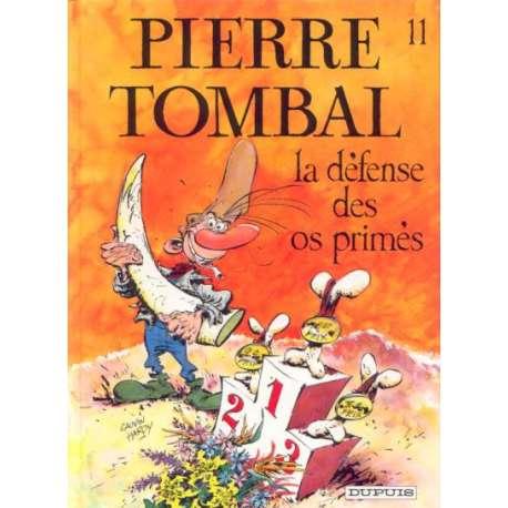 Pierre Tombal - Tome 11 - La défense des os primés