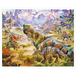(2000 pièces) - Jan Patrik Krasny - Dinosaurs