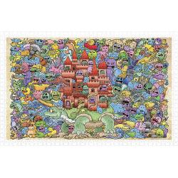 (1000 pièces) - Mystical Castle