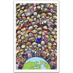 (1000 pièces) - Une seule Terre, Une seule Famille