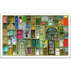 (1000 pièces) - Portes fermées