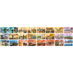 (48000 pièces) - Travel around the World
