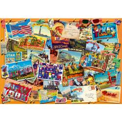 (1000 pièces) - Postcard (USA)