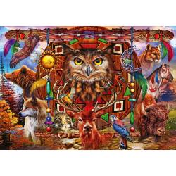 (1000 pièces) - Animal Totem